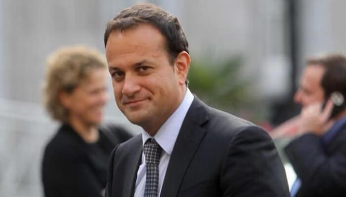 Irish PM leaves for Delhi after celebrating New Year in Goa