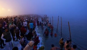 18 lakh pilgrims take holy dip at Ganga Sagar on Makar Sankranti