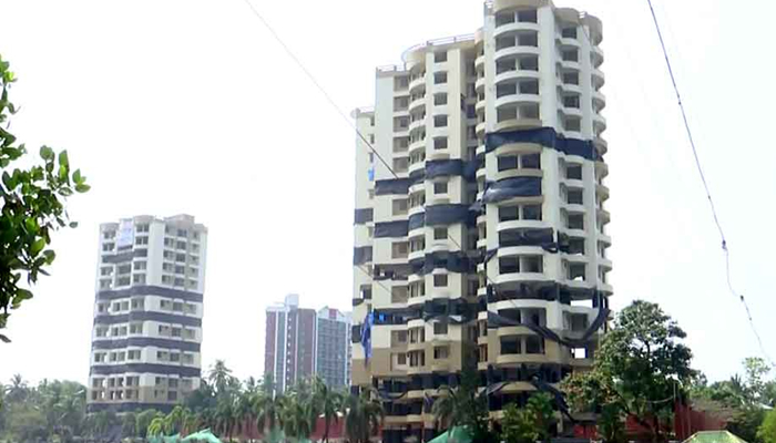 Kerala: Two more illegal apartment complexes to be razed on Sunday