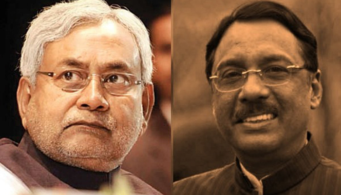 Nitish reacts strongly to Pavan Varmas charges, says he is free to go