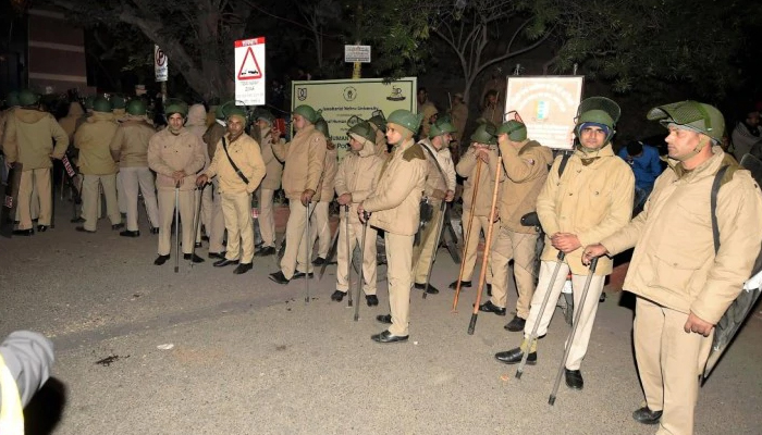 JNU violence: Delhi Police holds meeting with students, teachers