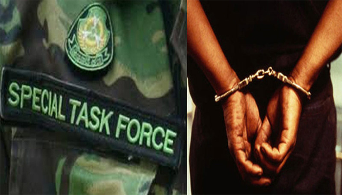 Three wanted criminals of nomadic tribe held by UP STF
