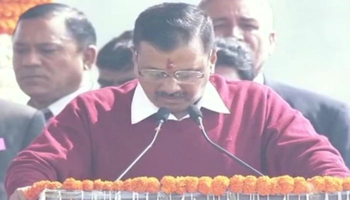 LIVE: I didn't give step-motherly treatment to anyone, Kejriwal at oath ceremony