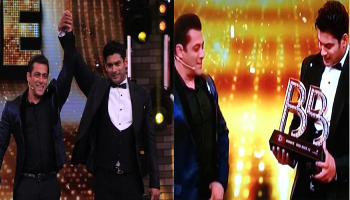 Bigg Boss13: Sidhartha Shukla won the coveted Trophy & Cash Prize