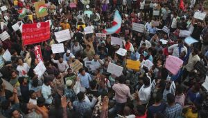 Another protest against CAA, People gather on major road in Delhi