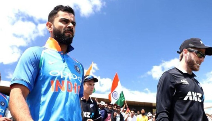 New Indian team to play in next ODI against New Zealand