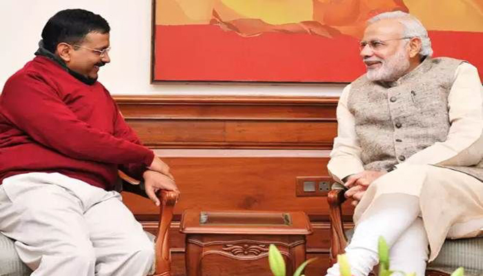 Arvind Kejriwal invites PM Modi to his oath taking ceremony