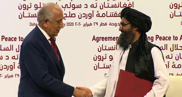 United States, Taliban sign historic deal on Afghanistans future