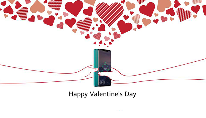 Celebrate Valentines Day with Attractive Offers on Huawei Devices