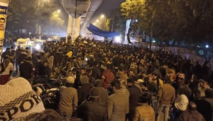 Another Firing attack near Jamia Millia Campus, case filed