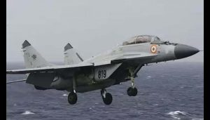 Navy's MiG-29K aircraft crashes off at Goa coast