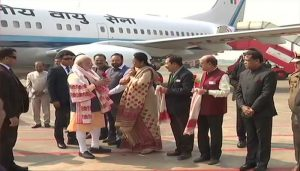 LIVE: PM Modi reached Kokrajhar, Lakhs of people gathered