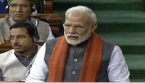 LIVE: PM Modi delivers Motion of Thanks to President's Address