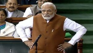 PM Modi attacks Congress, says opposition trying to divide India