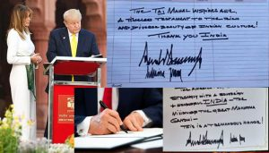 Secret of Trump's Signature! Here is handwriting Analysis…