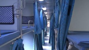 Railways manufactures prototype of isolation ward in non-AC coaches