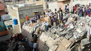 Death toll in Pakistan building collapse rises to 18