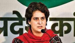 Priyanka Gandhi slams Uttar Pradesh govt, says report card filled with lies