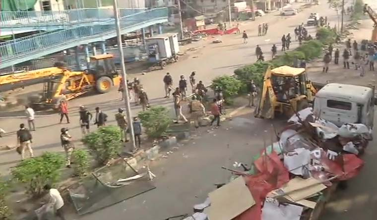 Delhi Lockdown: Anti-CAA protesters removed from Shaheen Bagh, other places