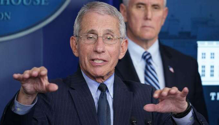Americans should never shake hands again: Anthony Fauci