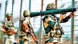 Pakistan troops shell forward posts along LoC in J-K's Poonch