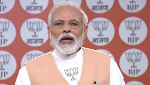 BJP Foundation Day: 'Ensure every poor gets food', PM Modi urges Party members