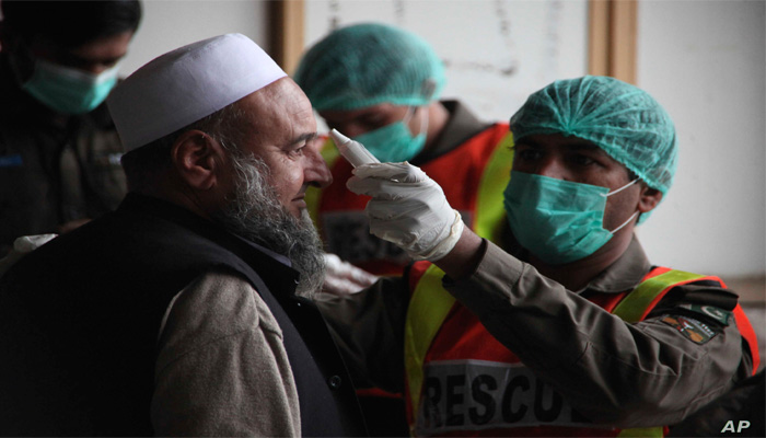 Pakistan reports record 40 deaths in single day, coronavirus cases jump to 22,413