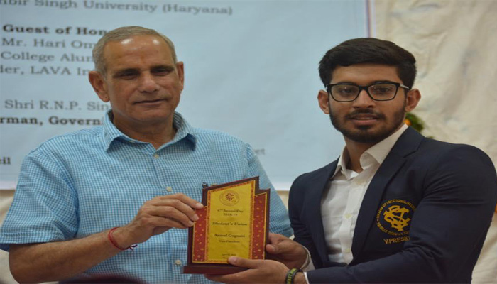 CVS Former Vice-President Anmol Gugnani shares his College journey