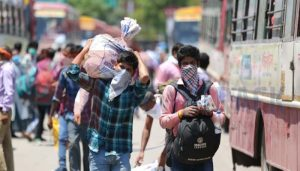 Nearly 3,500 migrants workers reach UP by trains