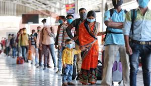 Special train with 1,140 migrants leaves for Jharkhand