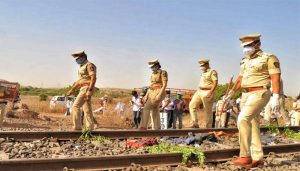 Heart wrenching accident in Aurangabad, Migrants returning to home died