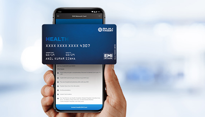 Bajaj Finserv Digital Health EMI Network Card - The Cards Pre-approved Limit Makes Medical Financing Hassle-free