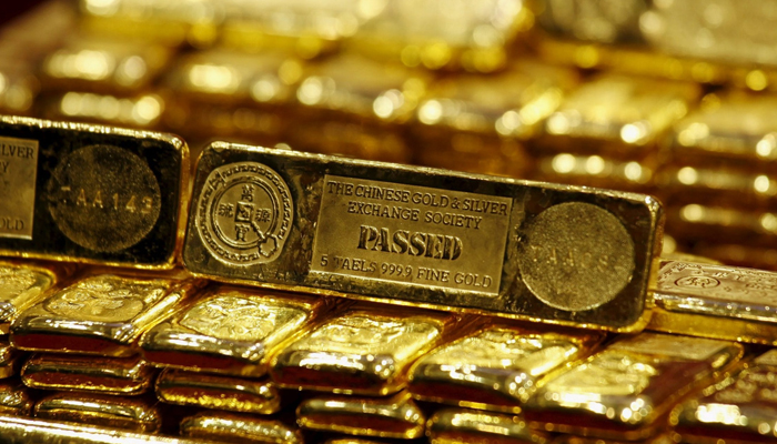 Gold prices decline by Rs 380 on subdued global cues