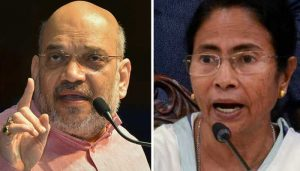 "Shah accuses Mamata of insulting migrants, running ""industry"" of political violence"