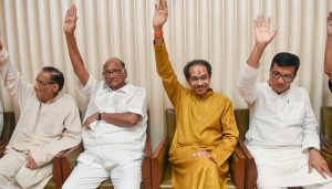 Shiv Sena likens Congress to 'old creaking cot', says govt is stable
