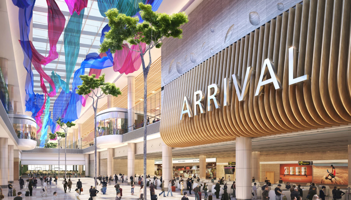 Singapore halts construction of Changi Airports new terminal due to COVID-19