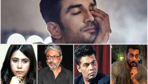 Post Sushant's suicide, case filed against 8 big names of Bollywood