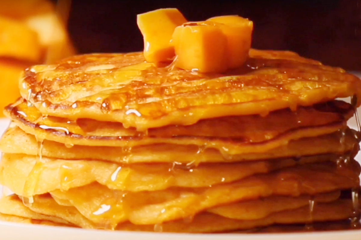 Mood for Delicious Pancakes? Try this Amazing Mango Recipe