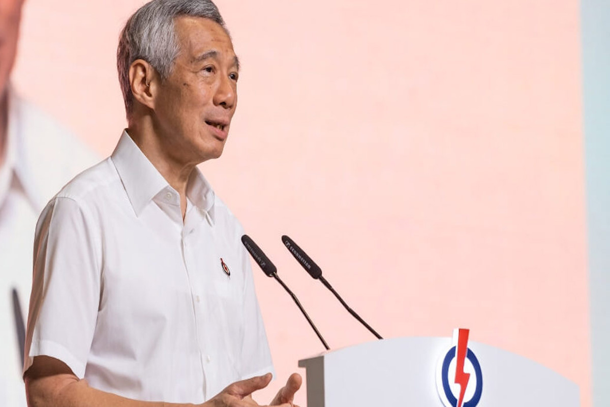 Singapore PMs ruling party unveils manifesto for General election