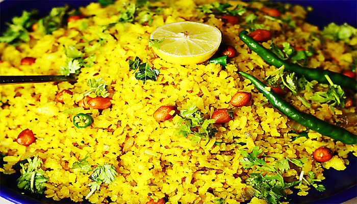 Try this finger-licking Poha Recipe