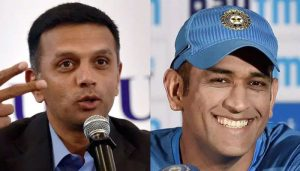 Rahul Dravid lauds fearless batting style of MS Dhoni