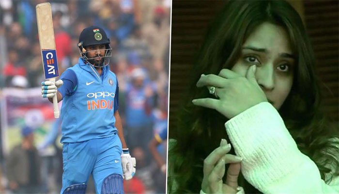 Rohit Sharma tells why Ritika got teary-eyed during his record-breaking knock