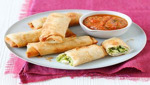 Give a Healthy twist to Classic Spring Rolls