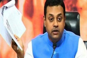 Congress is against National interest says Sambit Patra