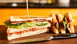Add variety to your Breakfast with this easy Sandwich