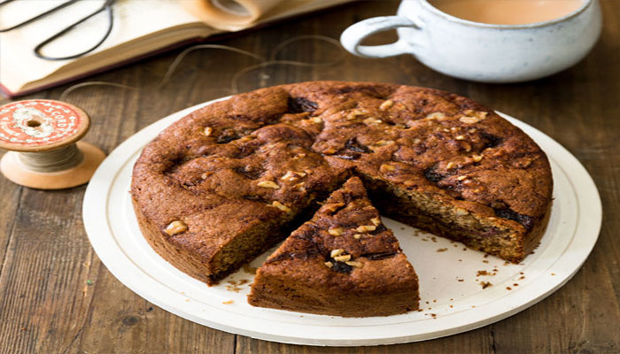 Pamper yourself with this easy Walnut cake recipe
