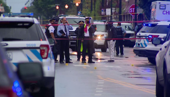 Cops: 15 injured after shooting outside Chicago funeral home