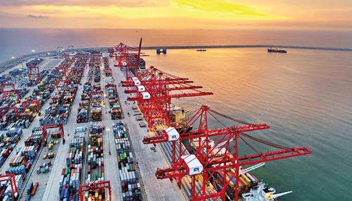 Sri Lankan port workers protest against proposed deal with India