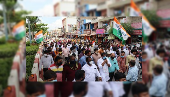 COVID-19: Congress leader, workers booked for Indore rally