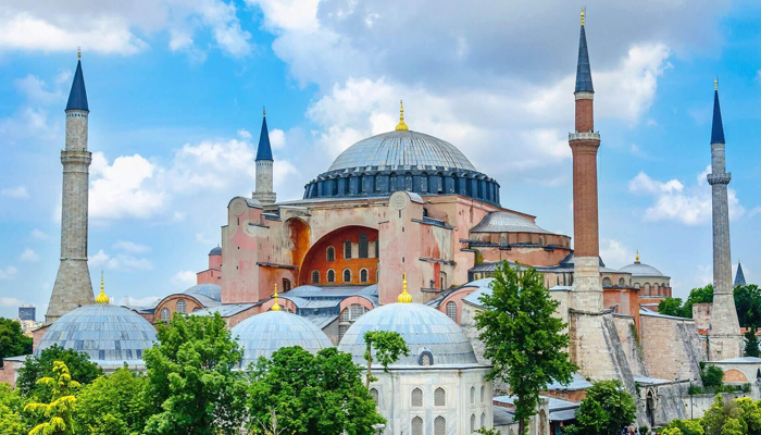 Istanbuls Hagia Sophia opens as a mosque for Muslim prayers